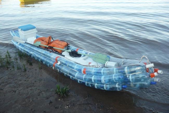 Лодка из пластика своими руками